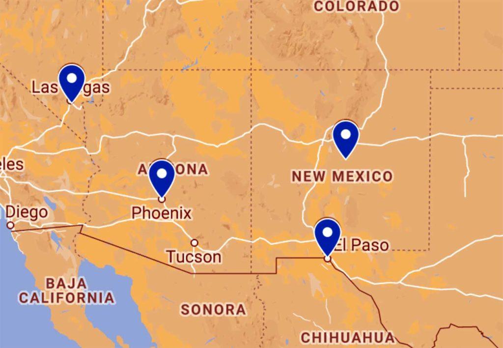 OAS Southwest Territory